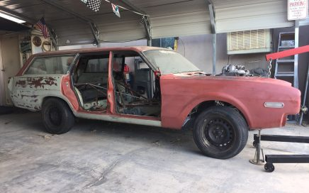 crown vic frame swap with frame sat on